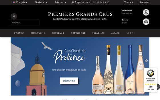 image du site https://www.premiersgrandscrus.com/fr/