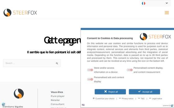 image du site https://www.steerfox.com/fr/