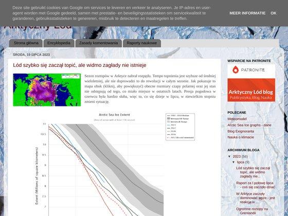 Arktyczny lód