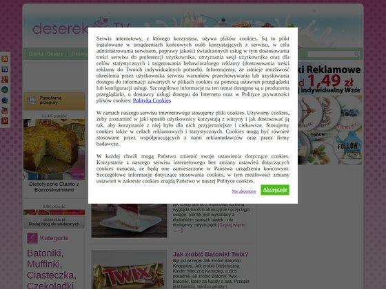 Video przepisy na ciasta i desery