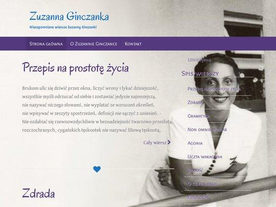 Zuzanna Ginczanka
