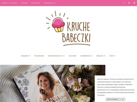 Kruche babeczki blog kulinarny z przepisami