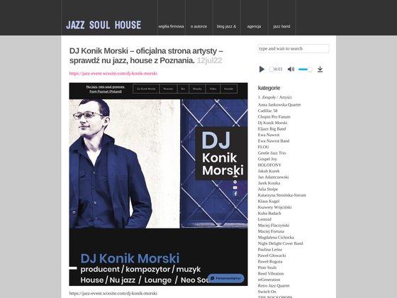 Jazz and Blues - zespoły muzyczne, mp3, video