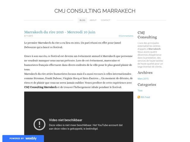 Cmj Consulting Marrakech