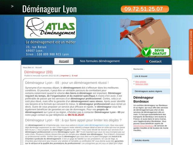 Déménageur Lyon