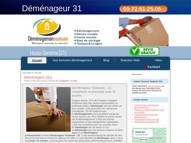 Déménageur Toulouse - 31