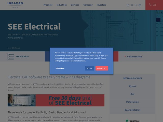 Logiciel électrique