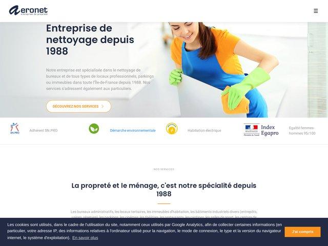 Visitez le site web : www.aeronet.fr