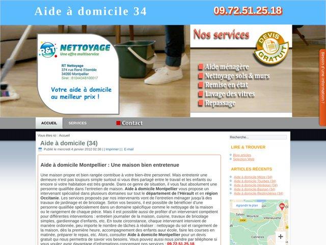 Aide à domicile à Agde et ses environs