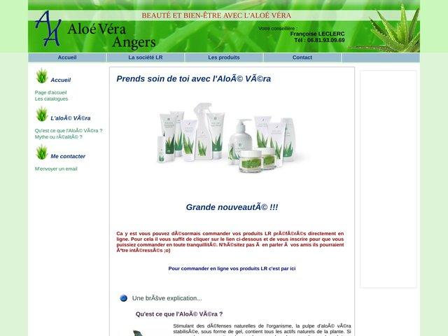 Aloé Véra Angers, Vendeuse indépendante des produits LR