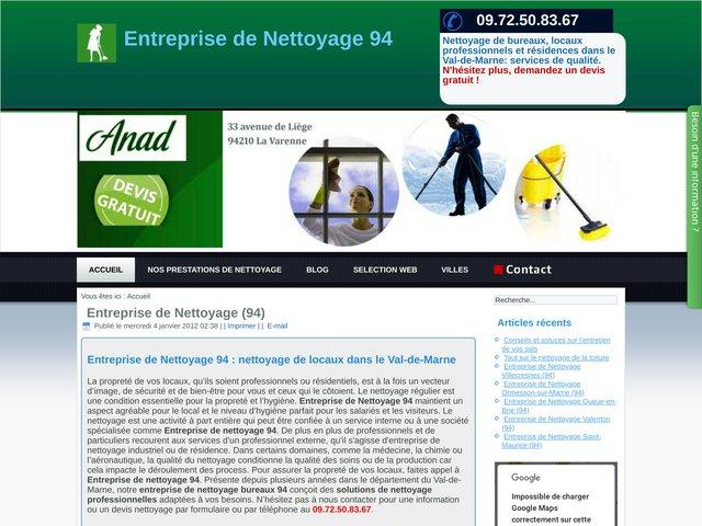 Entreprise de Nettoyage 94
