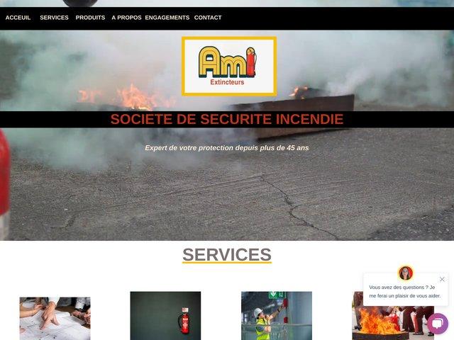 azur marine incendie - extincteurs Côte d'Azur