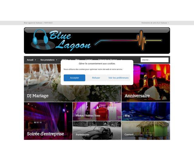 Blue Lagoon Discomobile : animation dj à toulouse pour mariage e
