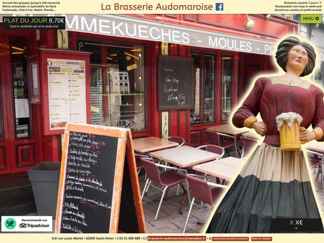 La Brasserie Audomaroise à Saint-Omer
