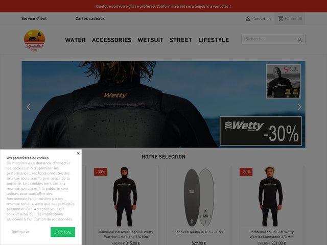 Surfshop en ligne
