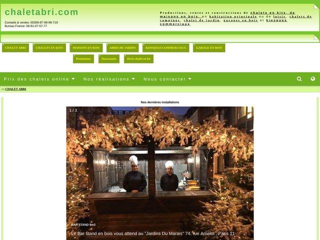 Vente en ligne constructions légères livrées en kit