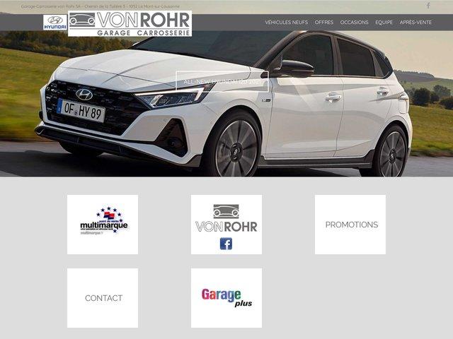 Garage carrosserie Von Rohr
