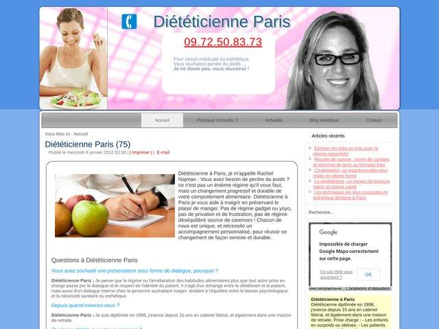 Diététicienne Paris