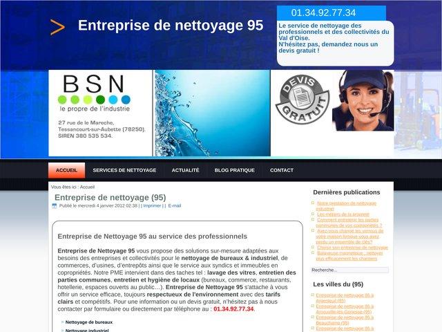 Entreprise de Nettoyage 95