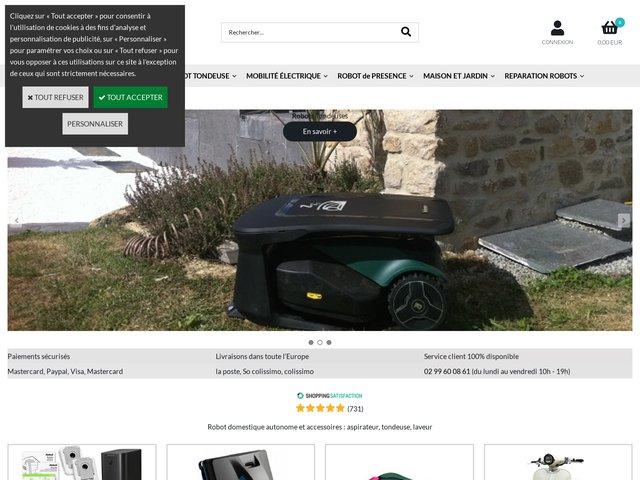 Tondeuse robot