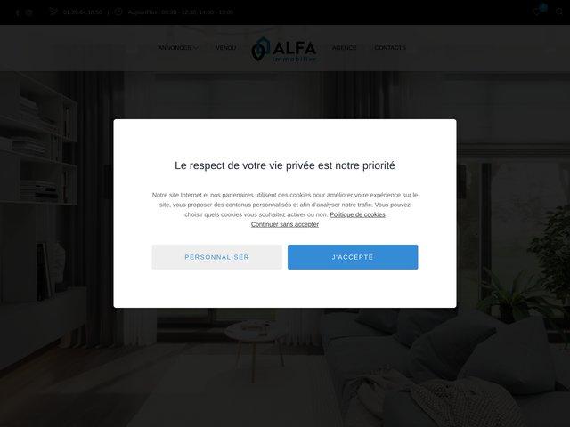 Immobilier Enghien avec l'agence ALFA