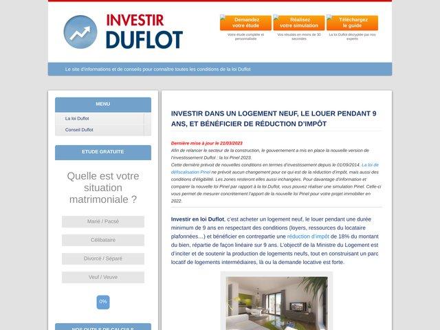 Loi Duflot : le site officiel