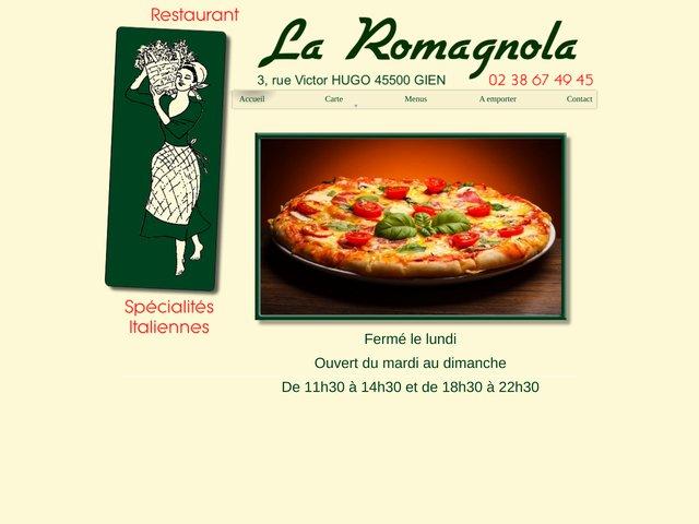 Pizzeria La Romagnola à Gien