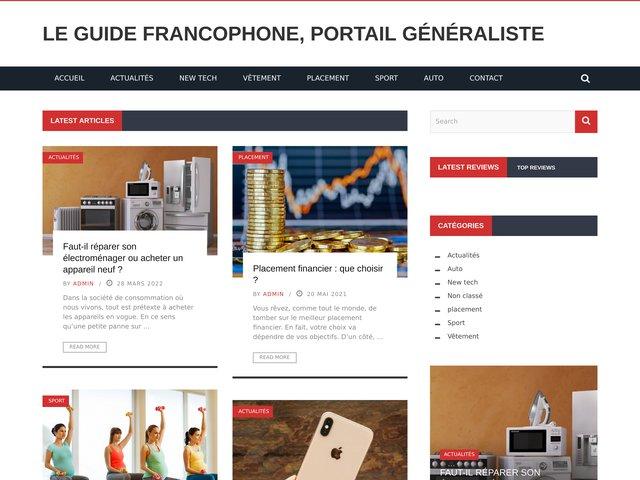 Le Guide Francophone