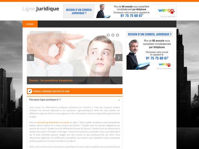 Contacter un avocat : Ligne Juridique