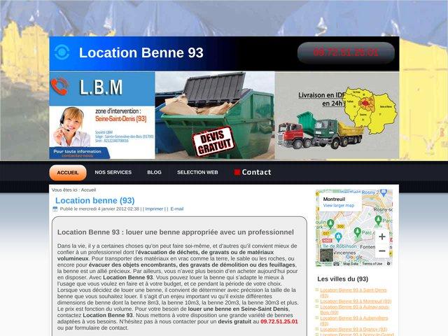 Location Benne 93