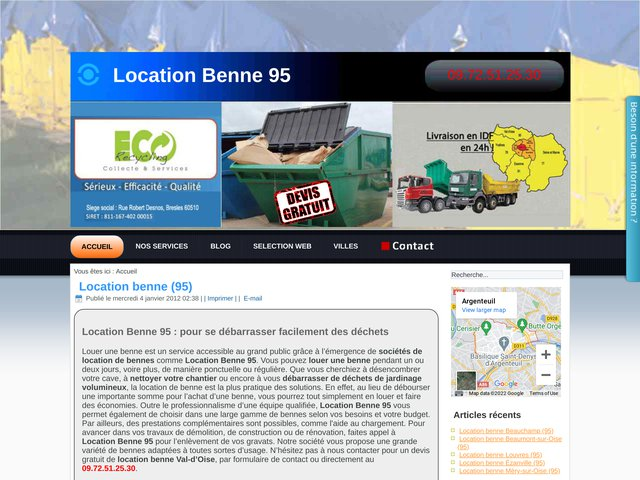 Location Benne 95