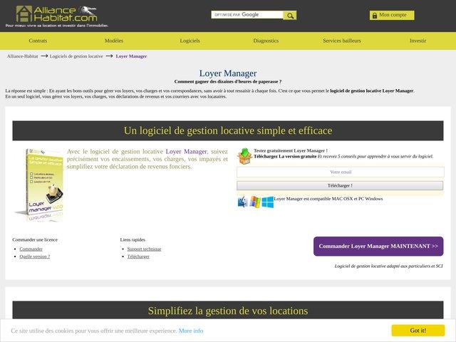 Logiciel Loyer Manager