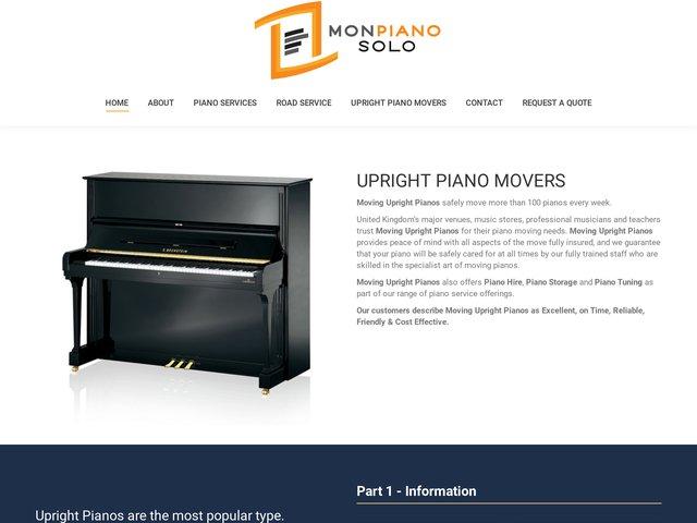 MonPianoSolo - plateforme de partage de musique libre de piano p