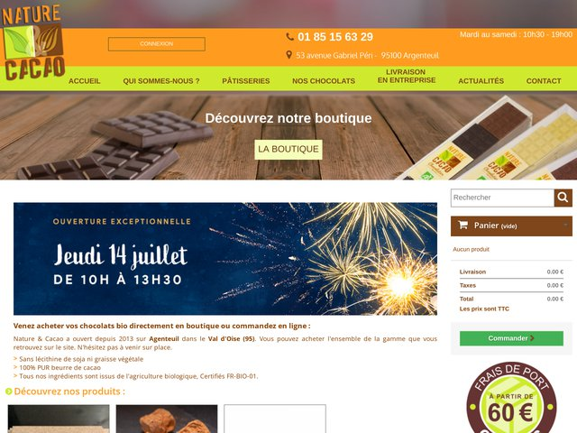 Chocolatier idf créateur de chocolat noël