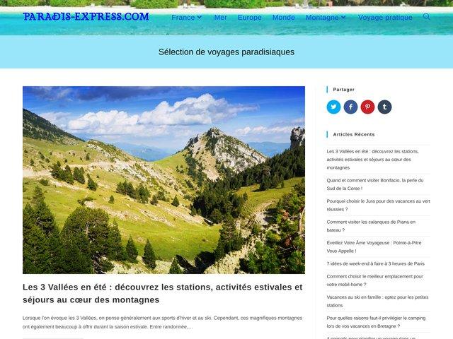 Paradis-Express.com est un site de locationà la montagne