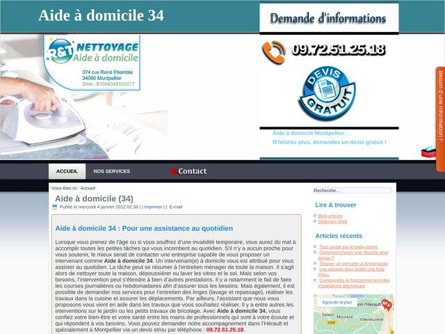 Aide à domicile Montpellier (34)