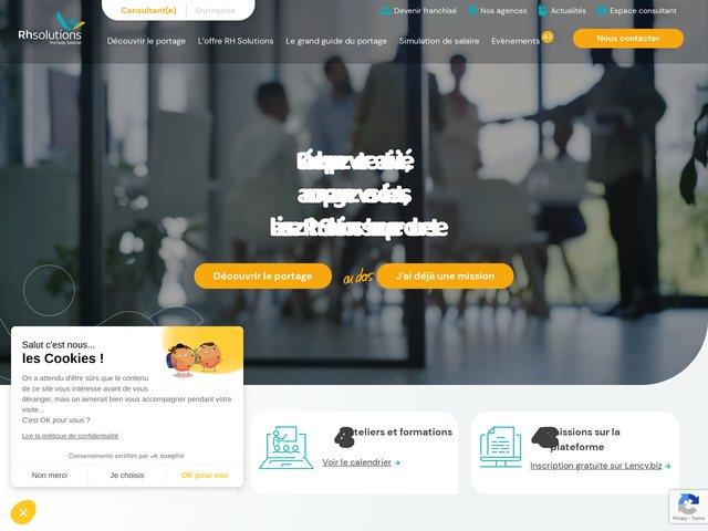 Portage salarial RH-Solutions