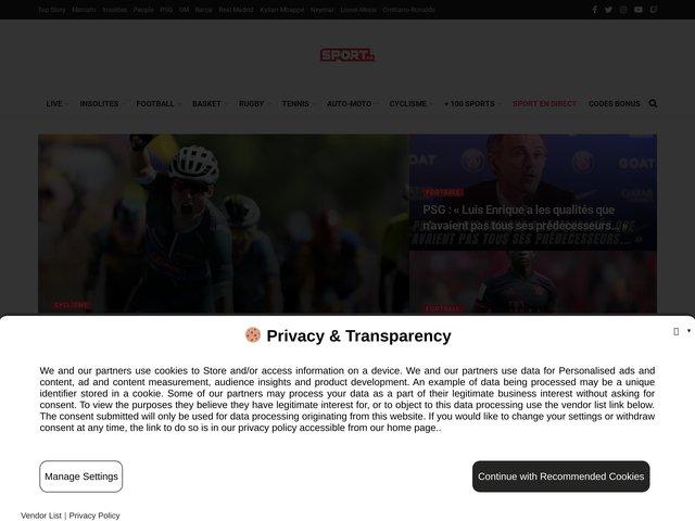Sports en direct