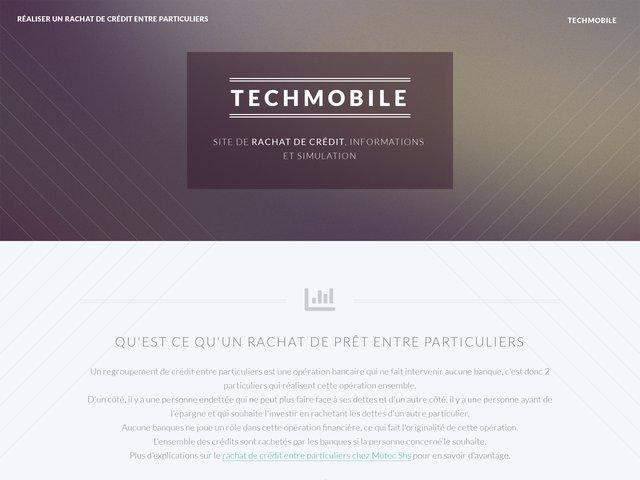 Techmobile: Téléphone portable pas cher.
