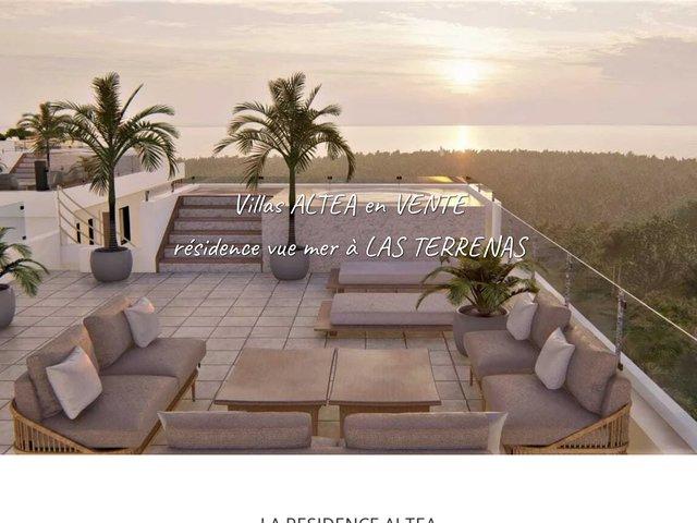 Immobilier Las Terrenas - Villas à vendre République Dominicaine