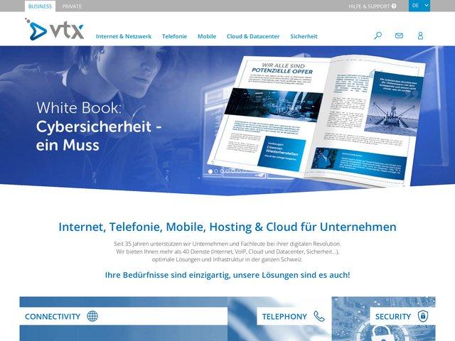 VTX.ch : mobile  à Sion