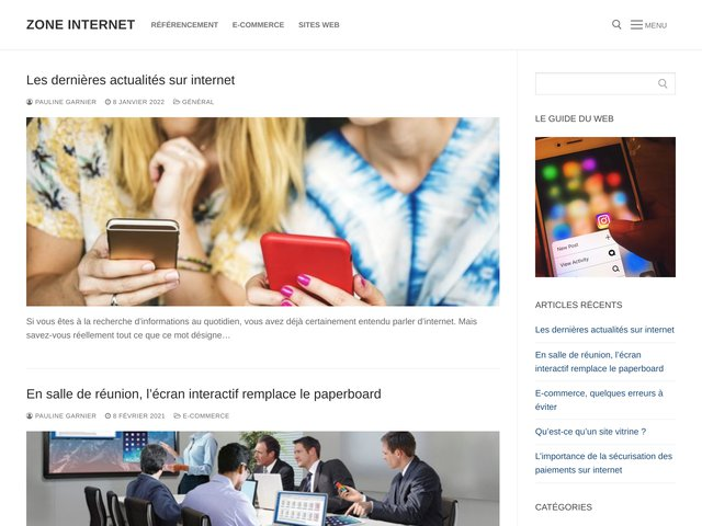 Spécialiste en création de sites Internet en Belgique