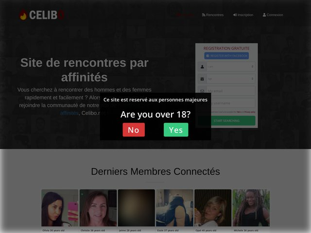 celibo.net : Rencontre affinitaires