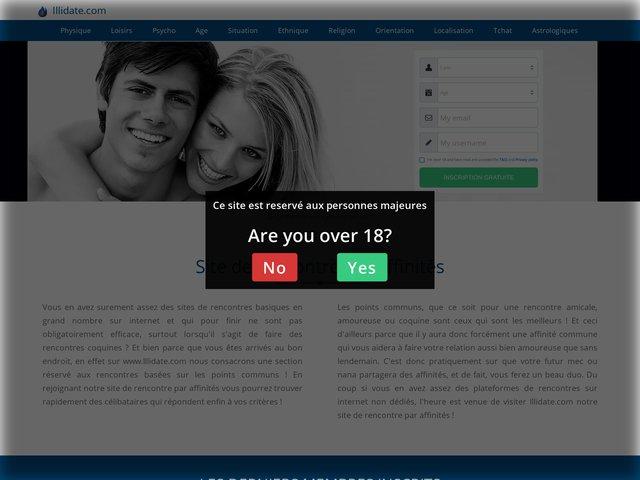 illidate.com : Site de Rencontres par affinités