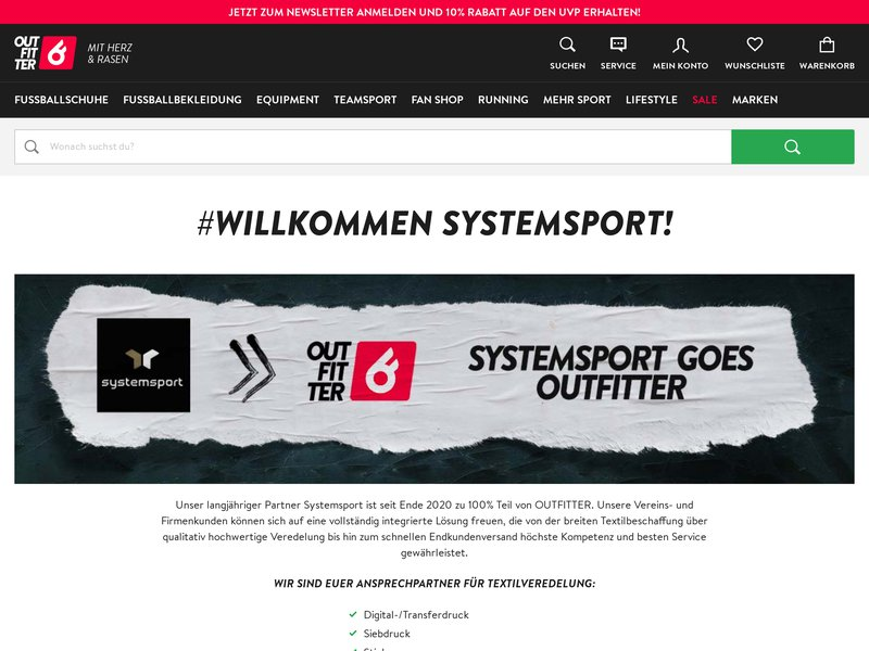 Apercite example for http://www.systemsport.de/