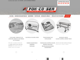 Foncoser, fonderie et mobilier urbain