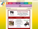 Sébastien Ducrin, accordeur réparateur de pianos