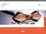 Melissambre - cravates en bois