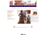 Solenn Hart: sculpture couples nus, nus féminins