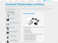 Détails : Standard téléphonie au maroc